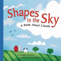 Shapes in the sky : a book about clouds cover image