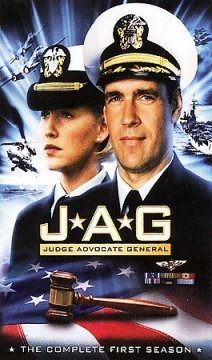 JAG, Judge Advocate General. Season 1 cover image