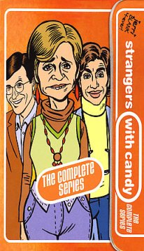 Strangers with candy. The complete series cover image