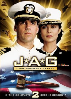JAG, Judge Advocate General. Season 2 cover image