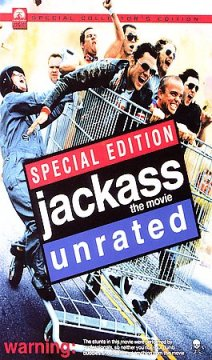 Jackass the movie cover image