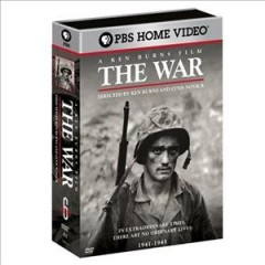 The war cover image