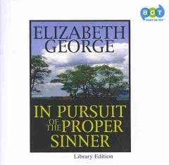 In pursuit of the proper sinner cover image