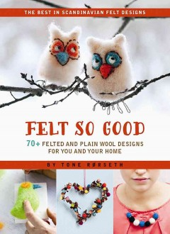 Felt so good : 70+ felted and plain wool designs for you and your home cover image