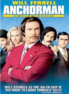 Anchorman the legend of Ron Burgundy cover image