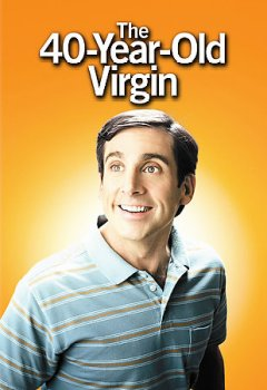 The 40-year-old virgin cover image