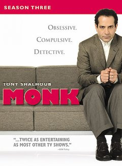 Monk. Season 3 cover image