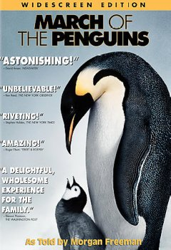 March of the penguins cover image