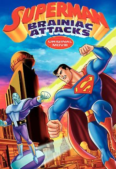 Superman Brainiac attacks cover image