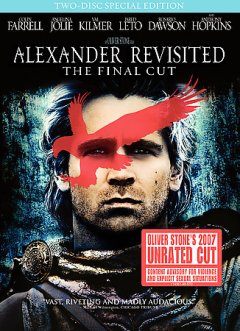 Alexander revisited the final cut cover image