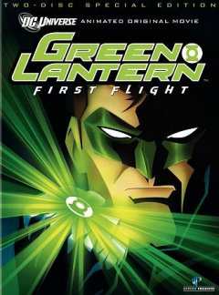 Green lantern first flight cover image