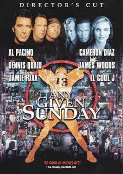 Any given Sunday cover image