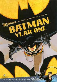 Batman year one cover image