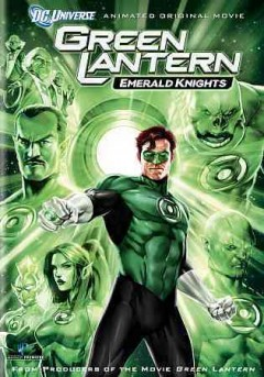 Green lantern. Emerald knights cover image