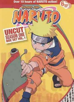 Naruto. Season 1, Volume 1 cover image