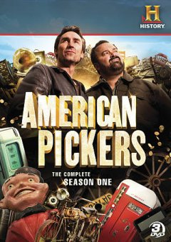 American pickers. Season 1 cover image