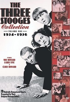 The Three Stooges collection. Volume one, 1934-1936 cover image