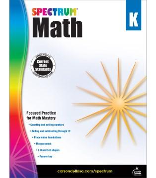 Math. Kindergarten cover image