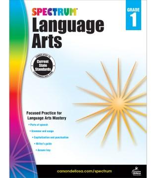 Spectrum language arts. Grade 1 cover image