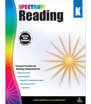 Spectrum reading. Kindergarten cover image
