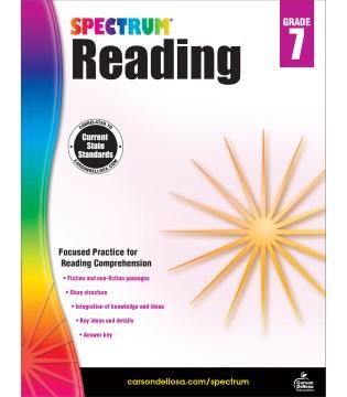 Spectrum reading. Grade 7 cover image