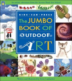 The jumbo book of outdoor art cover image