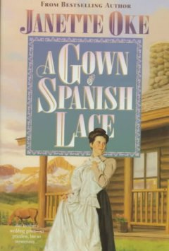 A gown of Spanish lace cover image