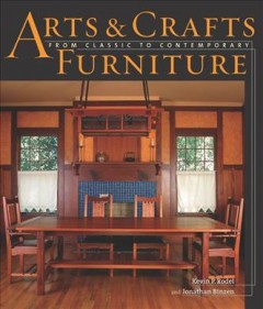 Arts & crafts furniture : from classic to contemporary cover image