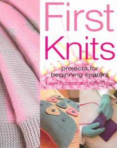 First knits cover image