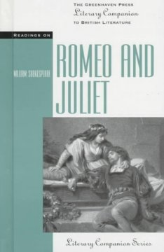 Readings on Romeo and Juliet cover image