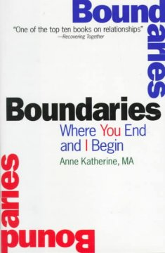 Boundaries : where you end and I begin cover image