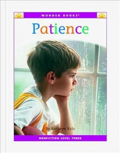 Patience : a level three reader cover image