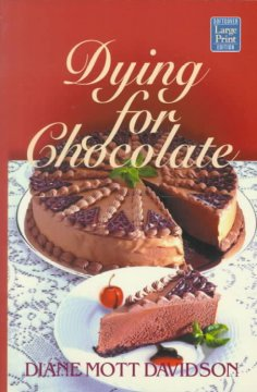 Dying for chocolate cover image