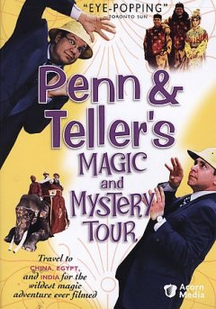 Penn & Teller's magic and mystery tour cover image