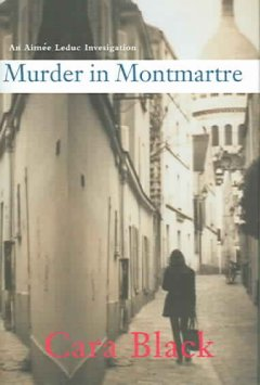 Murder in Montmartre cover image