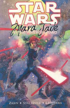Star Wars ;   Mara Jade.   By the Emperor's Hand cover image