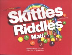 Skittles bite size candies riddles math cover image