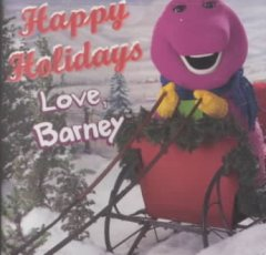 Happy holidays love, Barney cover image