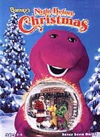 Barney's night before Christmas cover image