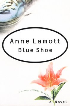 Blue shoe cover image
