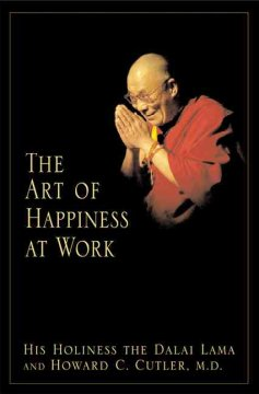 The art of happiness at work cover image