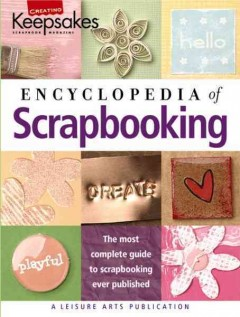 The encyclopedia of scrapbooking cover image