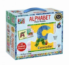 Alphabet floor puzzle cover image
