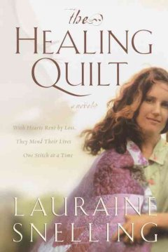 The healing quilt cover image
