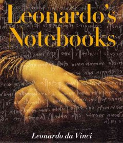 Leonardo's notebooks cover image