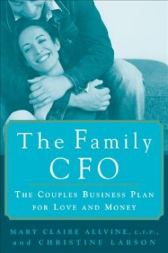 The family CFO : the couple's business plan for love and money cover image