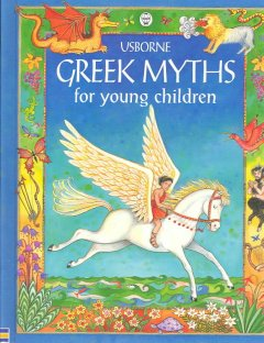 Usborne Greek myths for young children cover image