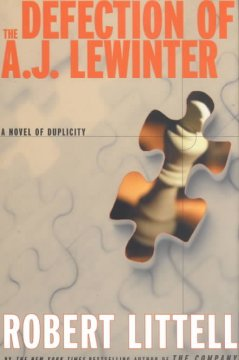 The defection of A.J. Lewinter : a novel of duplicity cover image