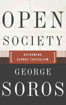 Open society : reforming global capitalism cover image