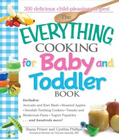 The everything cooking for baby and toddler book cover image